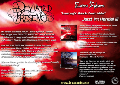 Deviated Presence Flyer