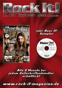 Rock It! Magazin Anzeige 2009