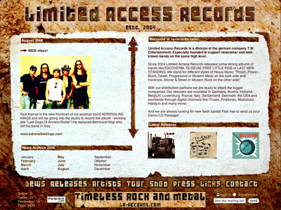 Limited Acess Records